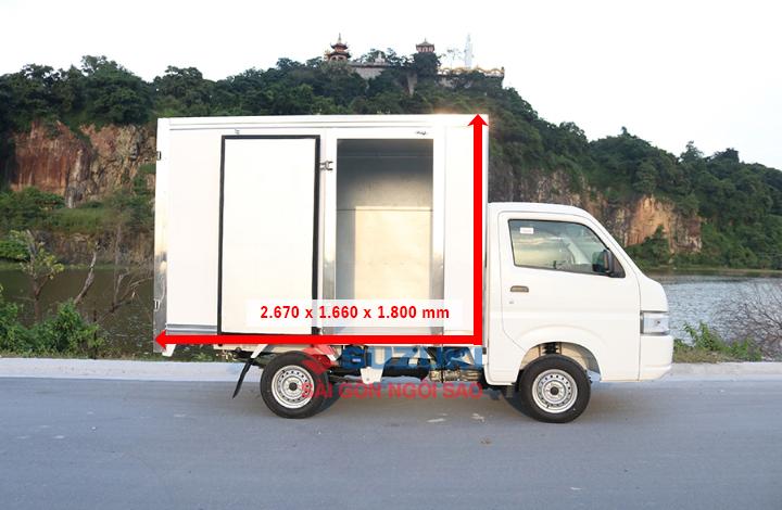 Suzuki Super Pro kich thuoc thung