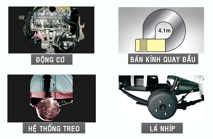 he thong chay suzuki truck 500kg