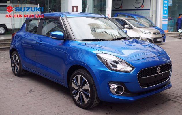 suzuki swift 2018 xanh