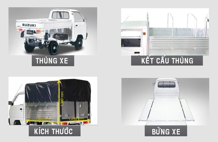 thung xe suzuki truck 500kg