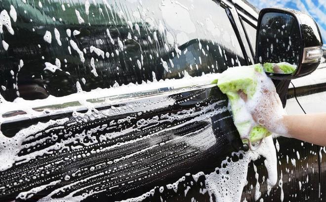 Dọn xe sạch sẽ trước khi cúng